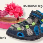 Carter's and Osh Kosh Shoes Sale!