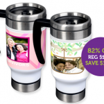 Personalized Travel Mug for just $3!