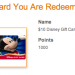 Disney Movie Rewards Disney Gift Cards IN STOCK!