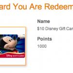 Disney Movie Rewards Disney Gift Cards IN STOCK!
