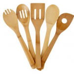 Good Cook 5 piece Bamboo Tool Set only $8 shipped!