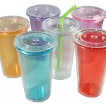 Set of 6 Reusable BPA-free Tumblers only $11.95!