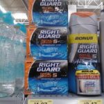 Right Guard Total Defense 5 bar soap just $.49 each!