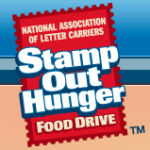 Stamp Out Hunger Food Drive TODAY!