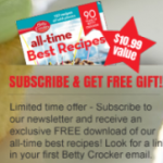 FREE Betty Crocker cookbook, samples, and coupons!