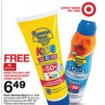 Top Target Deals: cheap Banana Boat sunscreen and more!