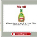 Top Target Deals:  Free Wishbone Salad Dressing, first aid for under $1 and more!