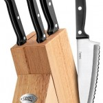 Ginsu Essential Series 5-Piece Stainless Steel Knife Set for $12.99