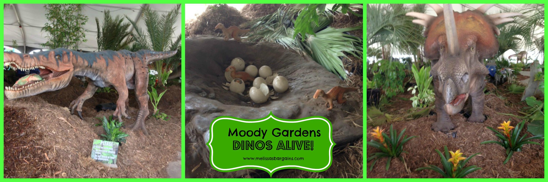 Dinos Alive Moody Gardens
