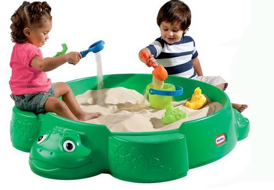 Little Tikes Turtle Sandbox Giveaway