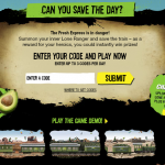 Subway Partner Up and Win Instant Win Game!