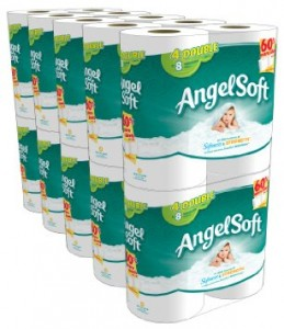 Stock up deal on Angel Soft toilet paper