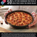 Domino's and Papa John's 50% off Pizza Coupons!