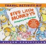 Five Little Monkeys Travel Activity Kit only $5.01