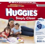 Huggies Simply Clean Fragrance Free Baby Wipes (600 ct) for $8.99 SHIPPED!