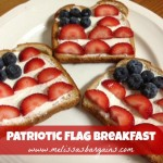 Patriotic Flag Breakfast