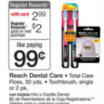 Reach Toothbrush MONEYMAKER!