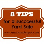 Eight Tips for a Successful Yard Sale