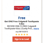 FREE Colgate toothpaste for Kroger shoppers today!