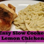 Easy Slow Cooker Lemon Chicken