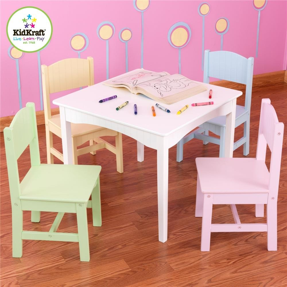 kidkraft nantucket table and 4 chairs for