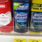 Right Guard Deodorant $.97 each after coupon!