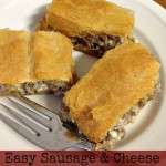 Easy Sausage & Cheese Breakfast Bites