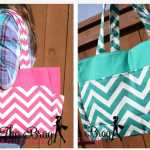 Chevron Print Bag Sale on Very Jane!