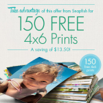 Snapfish 150 FREE 4×6 photo prints!