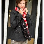 Patriotic Fall Scarf only $4.99 Shipped!
