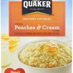 Quaker Instant Oatmeal Sale!