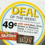 Cheap Candy Bars at Walgreens this week!