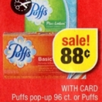 FREE Puffs Tissues at CVS!