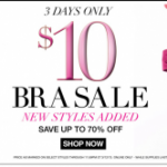 Maidenform Bra Sale: bras for $8.50 each shipped!