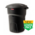 Rubbermaid Roughneck 32 gallon Black Trashcan only $9.97!