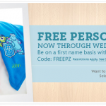 Personalized Disney Character Blankets just $12!