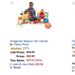 Fisher Price Toys 40% off today only!