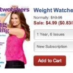 Weight Watchers and Rachael Ray Magazine Sale!