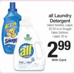 Laundry Detergent Stock Up Deals for the week of 9/30