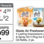 Glade Sense & Spray Starter Kit FREE after coupons!