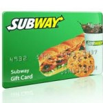 Subway $5 Gift Card Instant Win Game!