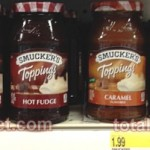FREE Smucker's Toppings at Target!