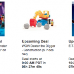 Amazon Lightning Deals on Toys for 10/24/13