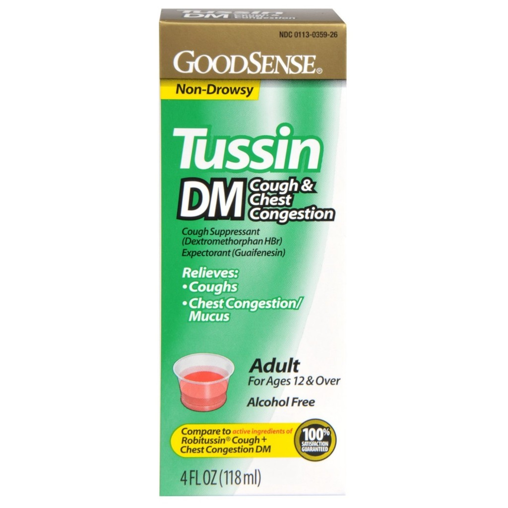 Bi Lo Stores >> Good Sense Tussin DM Cough and Chest Congestion Syrup only $1.09 shipped