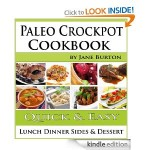 Paleo Crockpot Cookbook FREE for Kindle!
