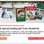 FREE Shutterfly Photo Cards from My Coke Rewards!