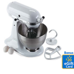 Walmart KitchenAid Mixer Bonus Gift Card Deal!