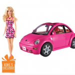 Barbie Volkswagen Beetle & Doll set only $16.99