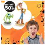 Disney Infinity Characters BOGO 50% off!