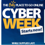 Walmart Cyber Week sales now online!